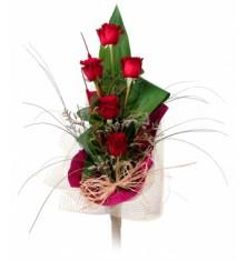 Рози червени – 5 бр.