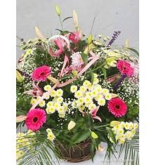 Кошници с пъстри цветя - 2